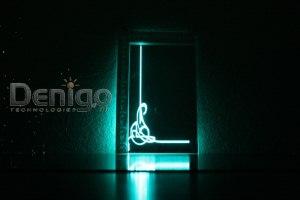 зеркала с рисунком внутри светящиеся в темноте