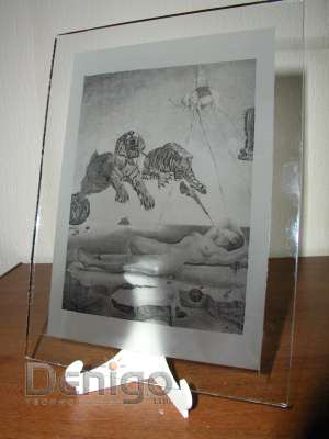 рисунок на стекле технология фотоматирование